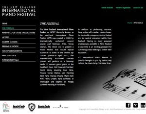 Lewis Eady's NZ International Piano Festival
