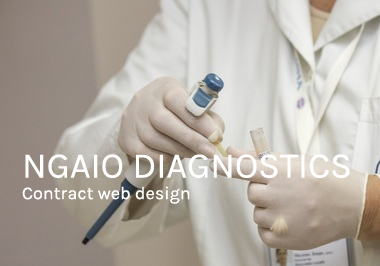 Ngaio Diagnostics web design