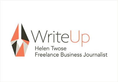 WriteUp logo design