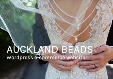Auckland Beads ecommerce website