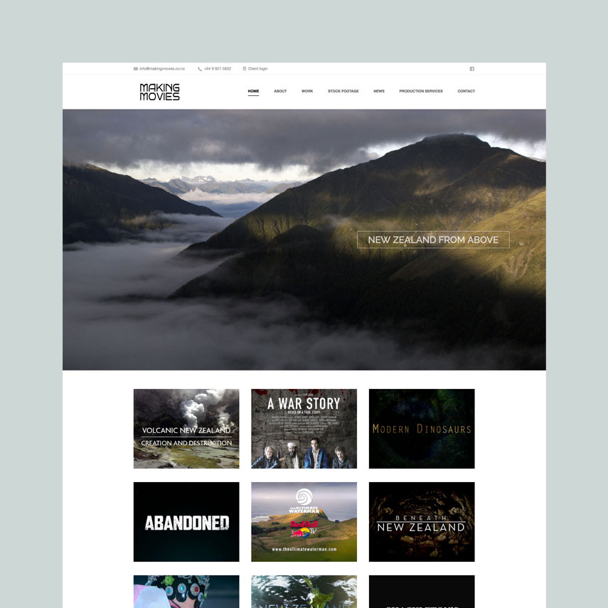 Making Movies : WordPress