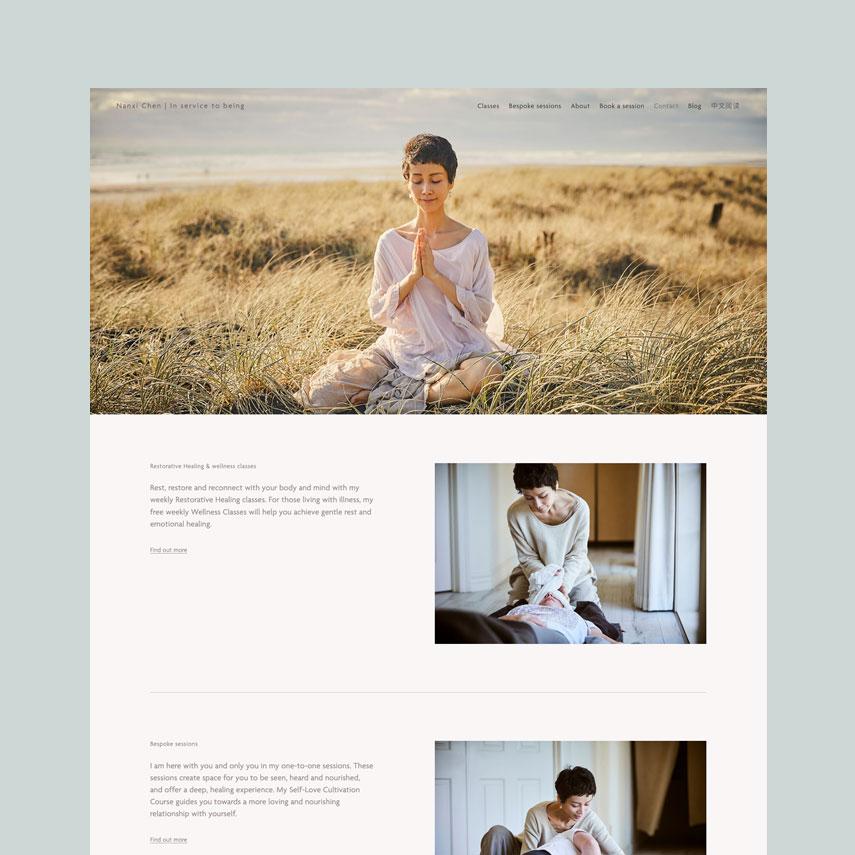 Nanxi Chen : Squarespace